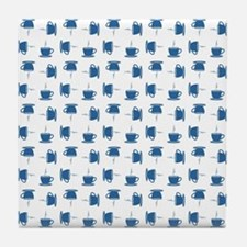CUP PATTERN Tile Coaster