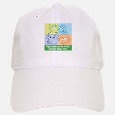 Sad animals' eyes Baseball Baseball Cap