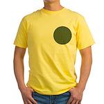 Geranium Leaves Yellow T-Shirt