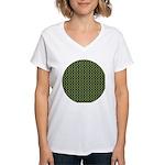 Geranium Leaves Women's V-Neck T-Shirt