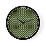 Geranium Leaves Wall Clock