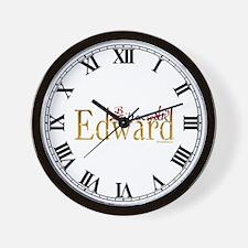Bitten by Edward Wall Clock
