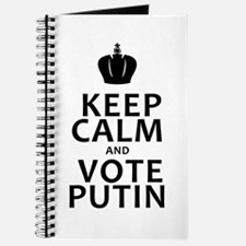 Keep Calm & Vote Putin Journal