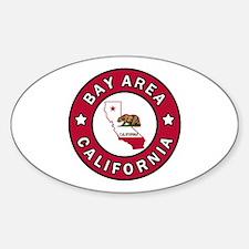 Unique Sunnyvale Sticker (Oval)