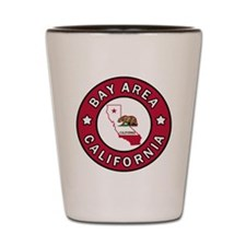 Cute Bay area Shot Glass
