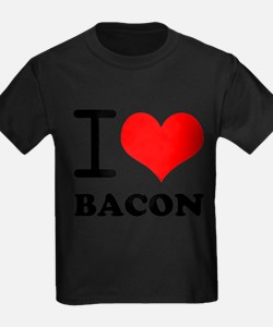 Cute I love bacon T
