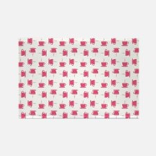 CUP PATTERN Rectangle Magnet