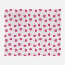 CUP PATTERN Throw Blanket