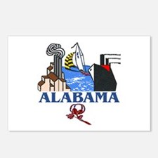 Alabama - Postcards (Package of 8)