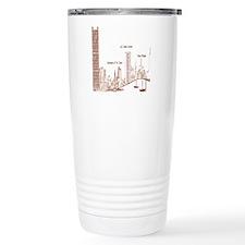 Milwaukee Skyline Cream Travel Mug