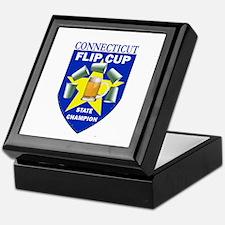 Connecticut Flip Cup State Ch Keepsake Box