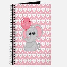 Unique Valentines day baby Journal