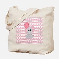 Funny Baby elephant Tote Bag