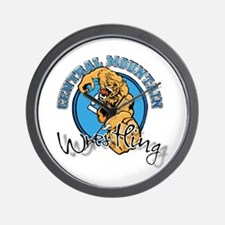Central Mountain Wrestling 9 Wall Clock