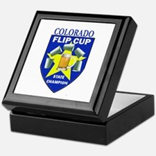 Colorado Flip Cup State Champ Keepsake Box