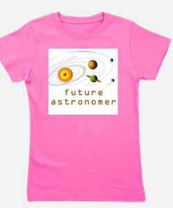 Funny Future scientist Girl's Tee
