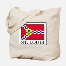 Funny St louis flag Tote Bag