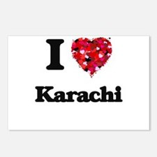 I love Karachi Pakistan Postcards (Package of 8)