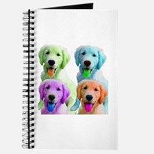 Golden Retriever Warhol Journal