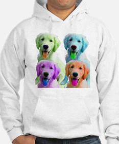 Golden Retriever Warhol Jumper Hoody