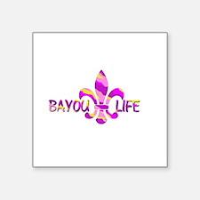 BAYOU LIFE Tiger Stripe Camo Sticker