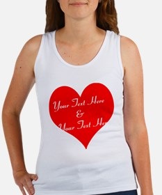 Personalize It - Customize 2 Lines of Text Tank To