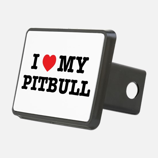I Heart My Pitbull Hitch Cover
