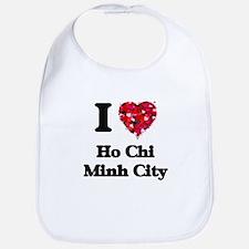 I love Ho Chi Minh City Vietnam Bib