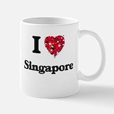 I love Singapore Singapore Mugs