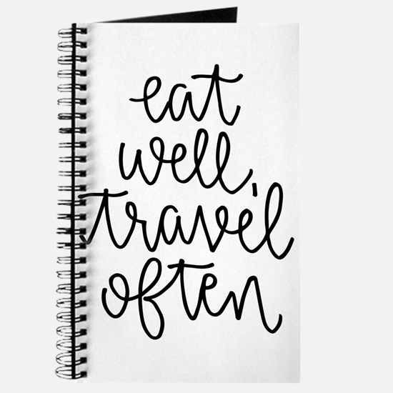 Eat Well, Travel Often Journal