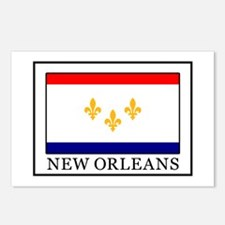 Unique Cajun flag Postcards (Package of 8)
