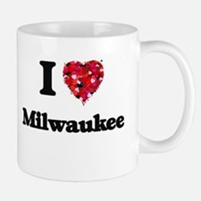 I love Milwaukee Wisconsin Mugs