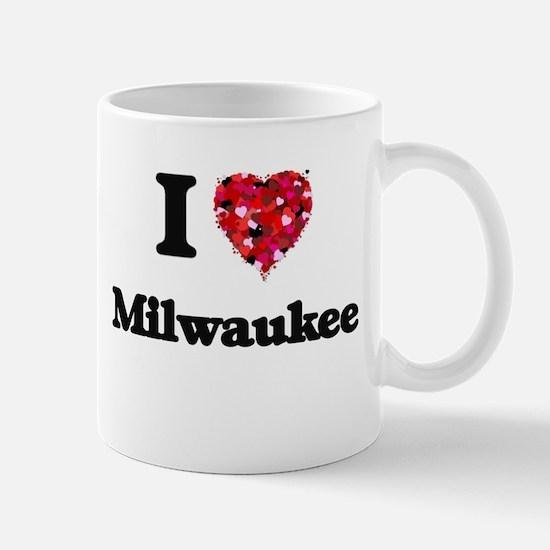 I love Milwaukee Wisconsin Mugs