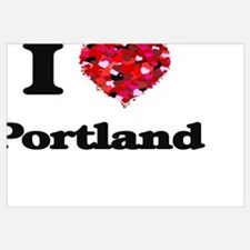 Oregon love Wall Art