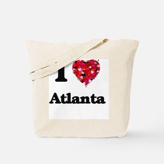 Funny I love atlanta Tote Bag