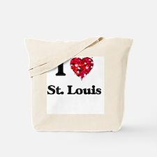 Unique St louis flag Tote Bag