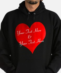 Personalize It - Customize 2 Lines of Text Hoodie