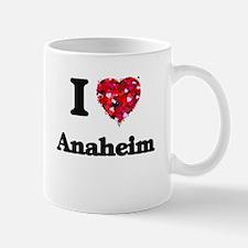 I love Anaheim California Mugs