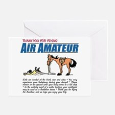 Air Amateur Greeting Card
