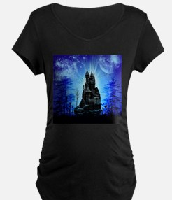 Awesome castle Maternity T-Shirt