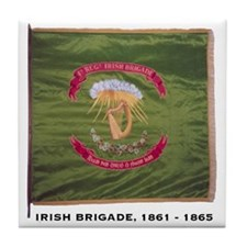 Irish Brigade Tile Coaster