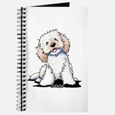 Smiling Doodle Puppy Journal