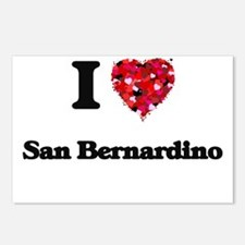 I love San Bernardino Cal Postcards (Package of 8)