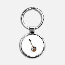 Bouzouki Guitar Keychains