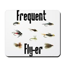 Frequent Fly-er Mousepad