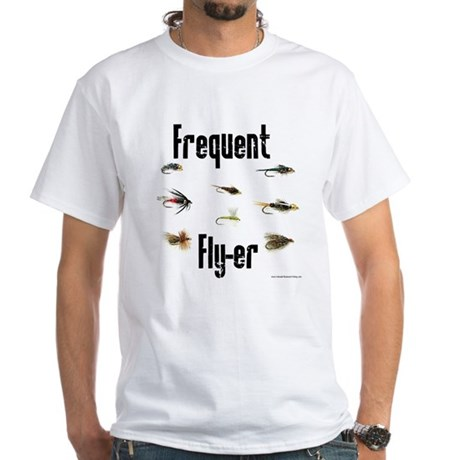 Frequent Fly-er White T-Shirt