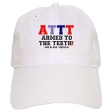 ATTT - ARMED TO THE TEETH! Baseball Cap