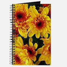 Yellow Garden Flowers Journal