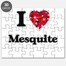 I love Mesquite Texas Puzzle