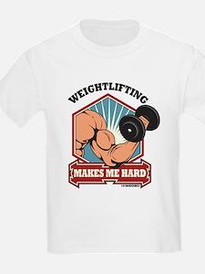 Weightlifting Makes Me Hard T-Shirt